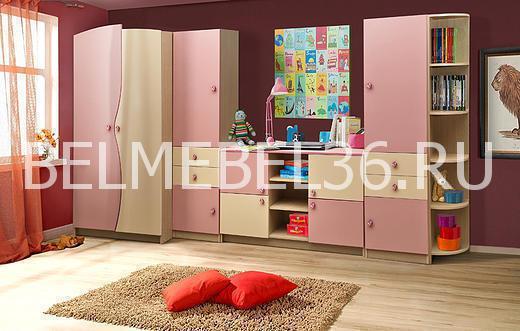 Мебель для детской комнаты БонниПинск   Белорусская мебель в Воронеже