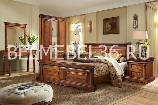 Мебель для спальни Милана П-294.03*2, П-294.05м,П-294.22,П-294.13, П-294.01 | Белорусская мебель в Воронеже