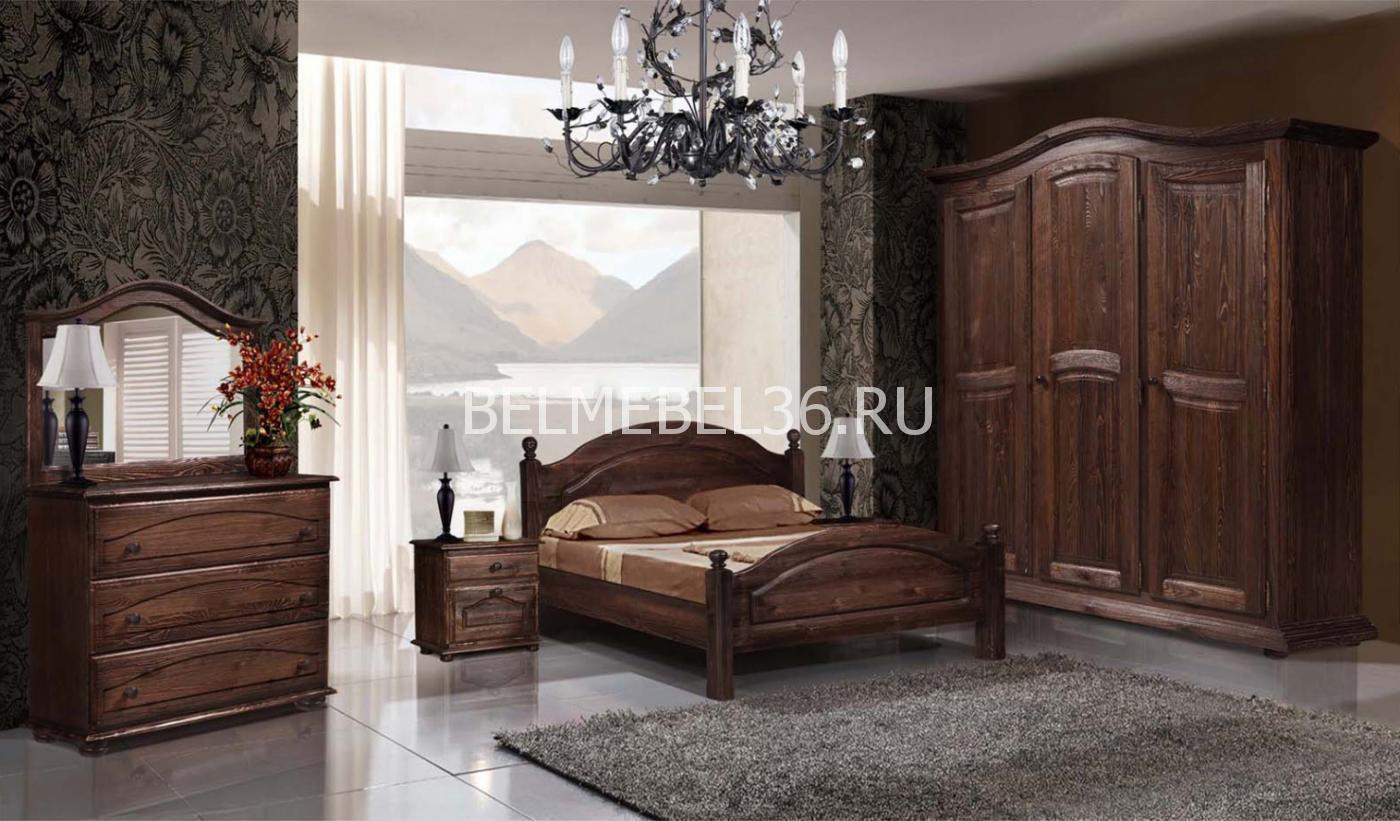 Спальня «Лотос» (Б-1091; Б-1090-11; Б-1093*2; Б-1124; Б-1121) | Белорусская мебель в Воронеже