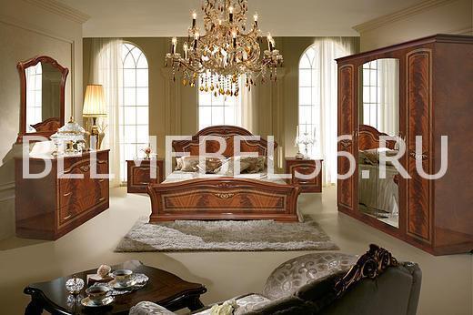 Спальня Виола (орех)   Белорусская мебель в Воронеже
