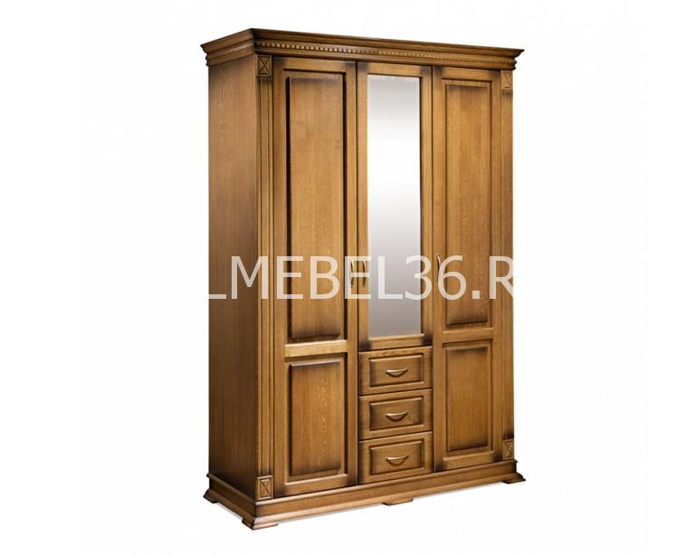 Шкаф 3-х дверный Верди П095.10   Белорусская мебель в Воронеже