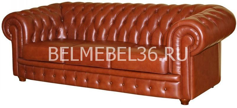Честерфилд (32). Диван из натуральной кожи П-Д013   Белорусская мебель в Воронеже