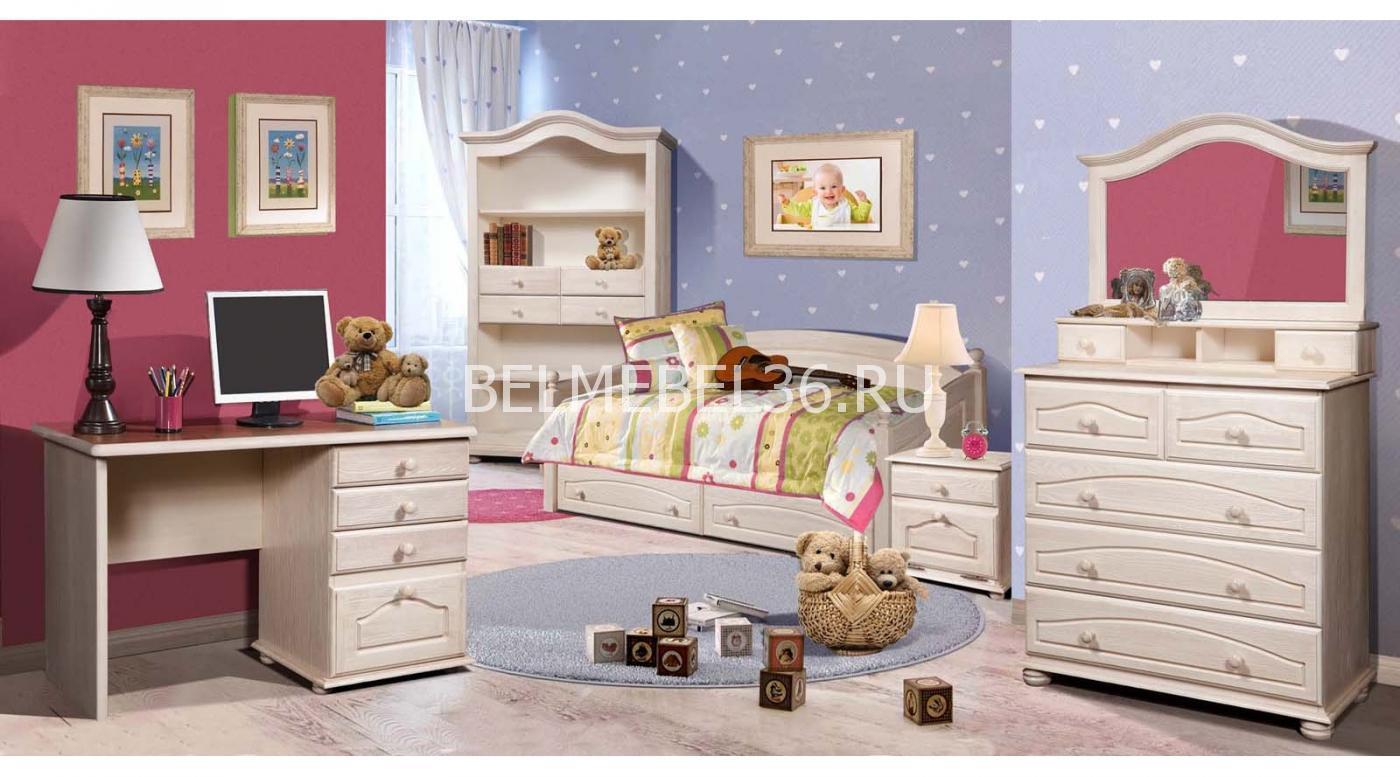 Детская Лотос. Материал — массив сосны | Белорусская мебель в Воронеже
