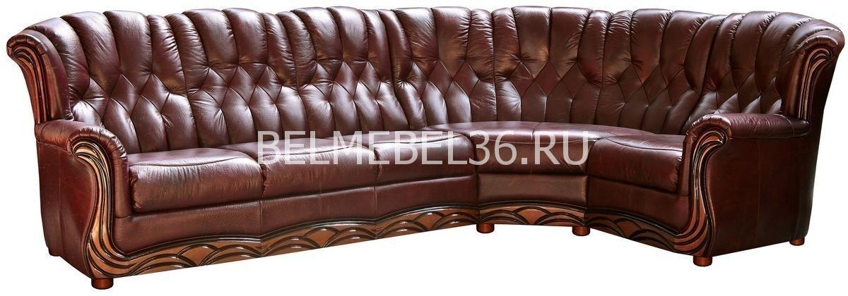 Диван Европа (угловой) П-Д061   Белорусская мебель в Воронеже