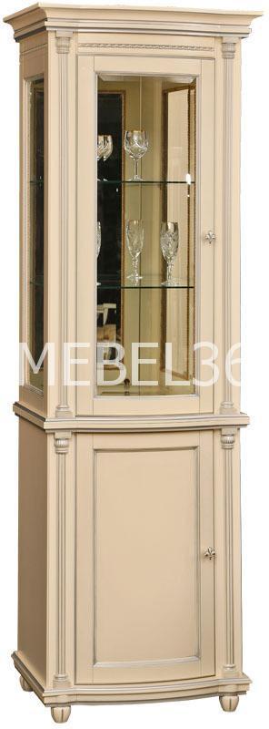 Гостиная Валенсия (античная темпера с серебром)   Белорусская мебель в Воронеже