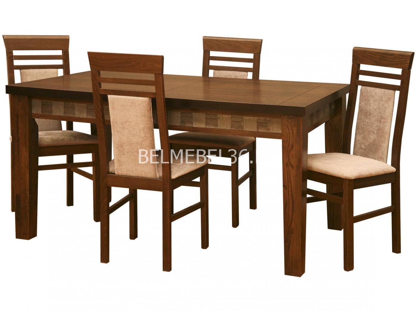 Стол обеденный Тунис 1Р П-352.02   Белорусская мебель в Воронеже
