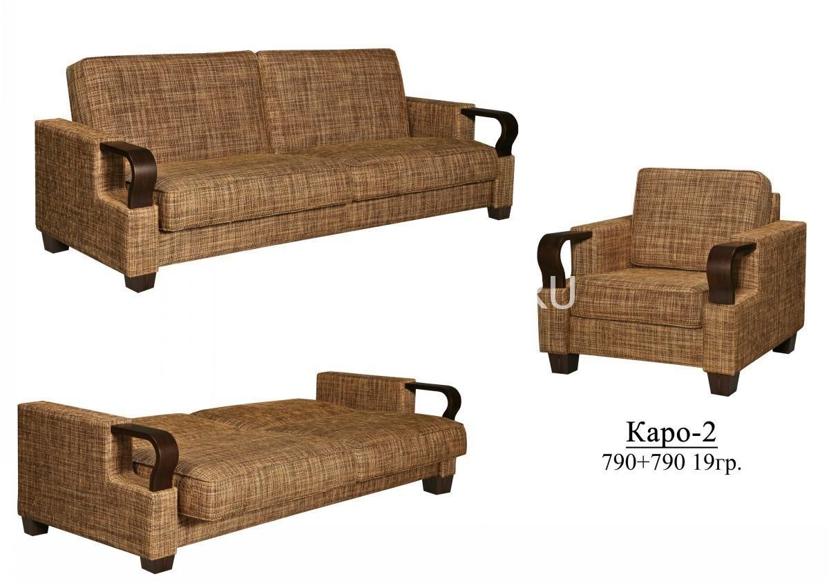 Диван-кровать Каро 2 (3М) П-Д128 | Белорусская мебель в Воронеже