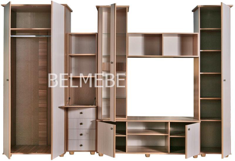 Гостиная Киви-3 П- 248.Н3 | Белорусская мебель в Воронеже