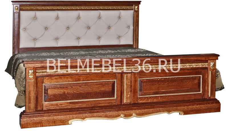 Кровать с мягкой спинкой Милана 16П- П-294.05   Белорусская мебель в Воронеже