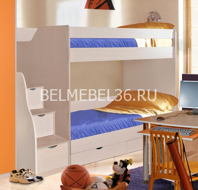 Кровать 2-х ярусная Милый Бэби П-223.01-1   Белорусская мебель в Воронеже