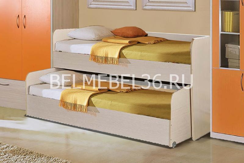 Кровать двойная Милый Бэби П-223.02 | Белорусская мебель в Воронеже