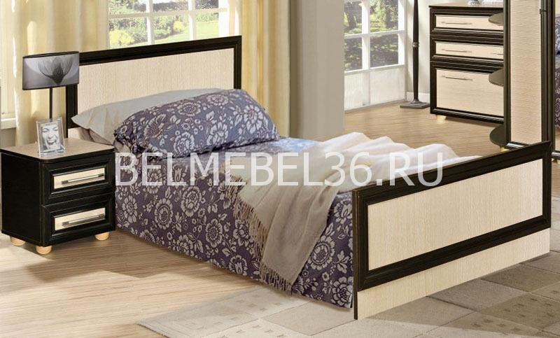 Кровать одинарная Ника П-024.07   Белорусская мебель в Воронеже