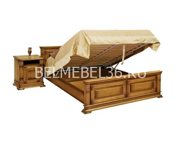 Кровать 2-х спальная Верди 16 П095.08м | Белорусская мебель в Воронеже