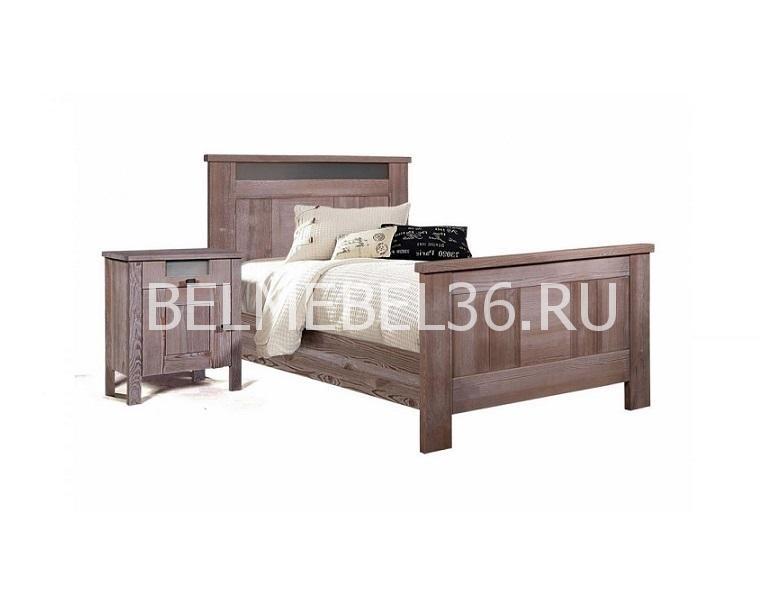 Кровать односпальная «ДОМИНИКА» БМ-2118 | Белорусская мебель в Воронеже