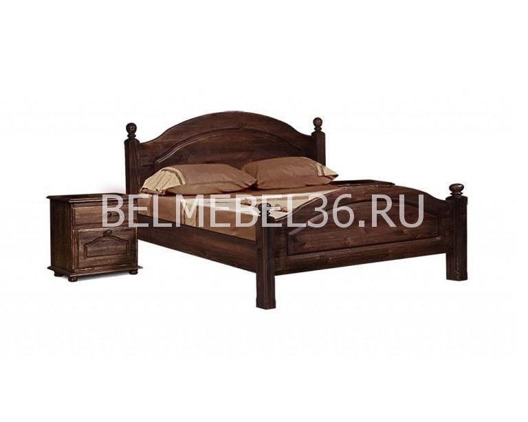 Кровать двуспальная «Лотос» Б-1090   Белорусская мебель в Воронеже