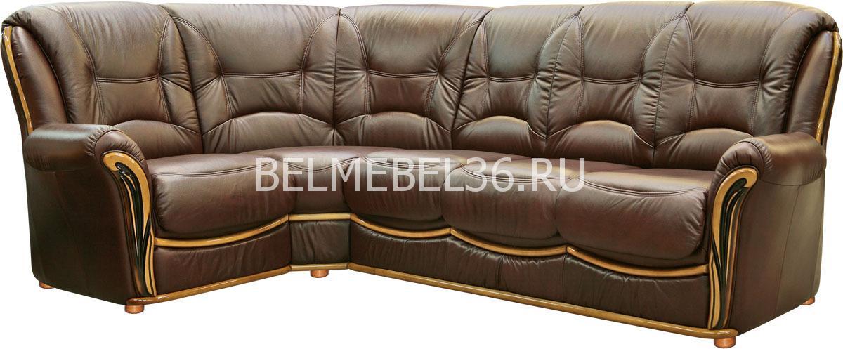Диван Леонардо 2 (угловой) П-Д069 | Белорусская мебель в Воронеже