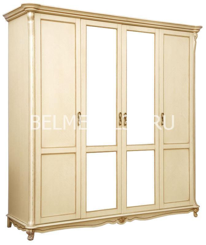 Шкаф 4-х дверный Алези П-349.02 | Белорусская мебель в Воронеже