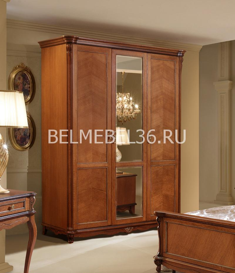 Шкаф 3-х дверный Алези П-349.01   Белорусская мебель в Воронеже