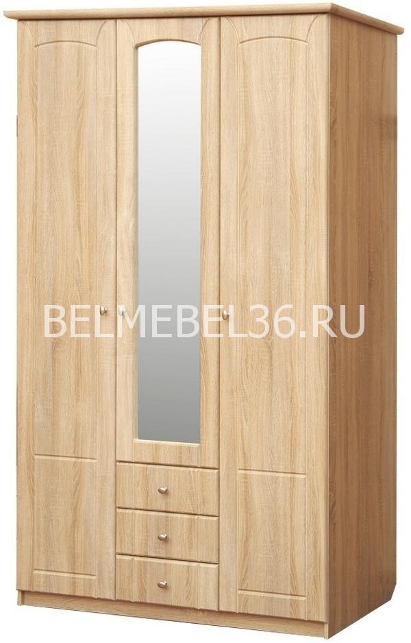 Шкаф 3-х дверный Ассоль П-372.01   Белорусская мебель в Воронеже