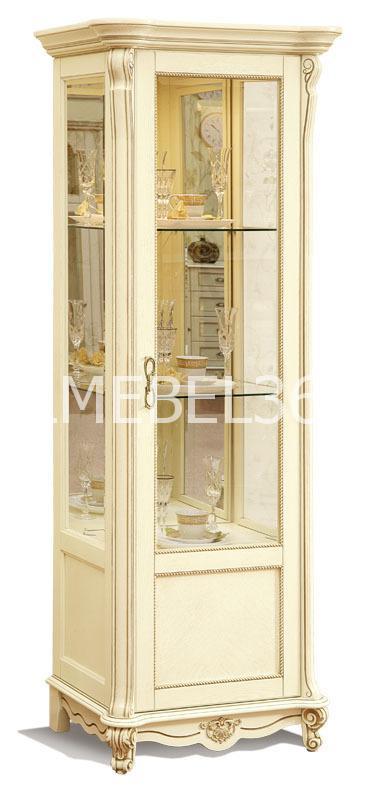 Шкаф с витриной Алези 8 П-350.08   Белорусская мебель в Воронеже