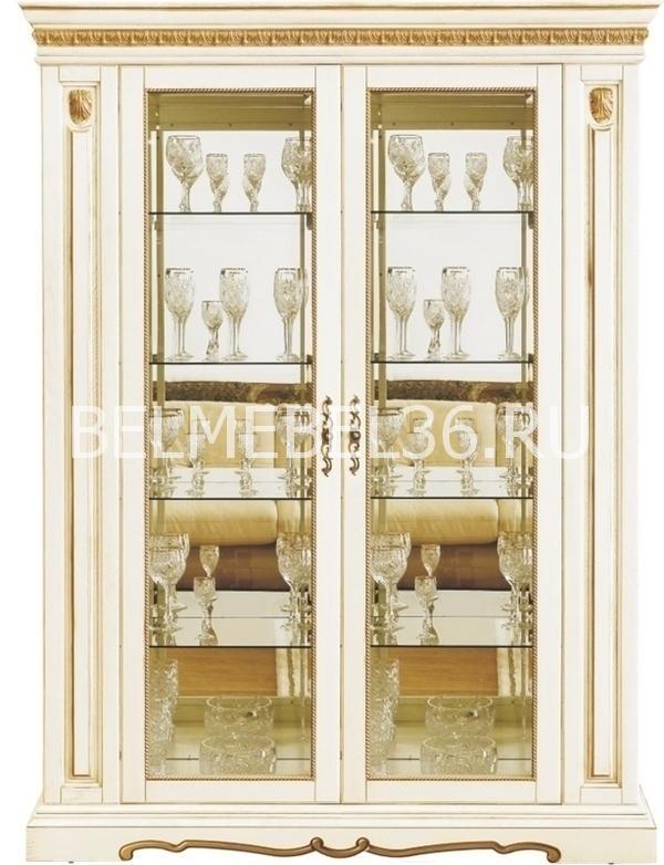 Шкаф с витриной Милана 5 П-265.05   Белорусская мебель в Воронеже