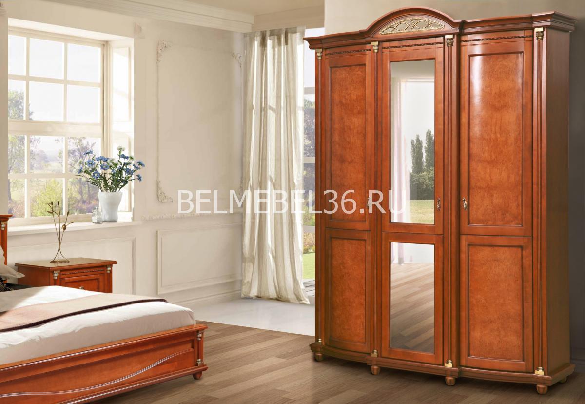 Шкаф для одежды Валенсия 3 П-254.10   Белорусская мебель в Воронеже