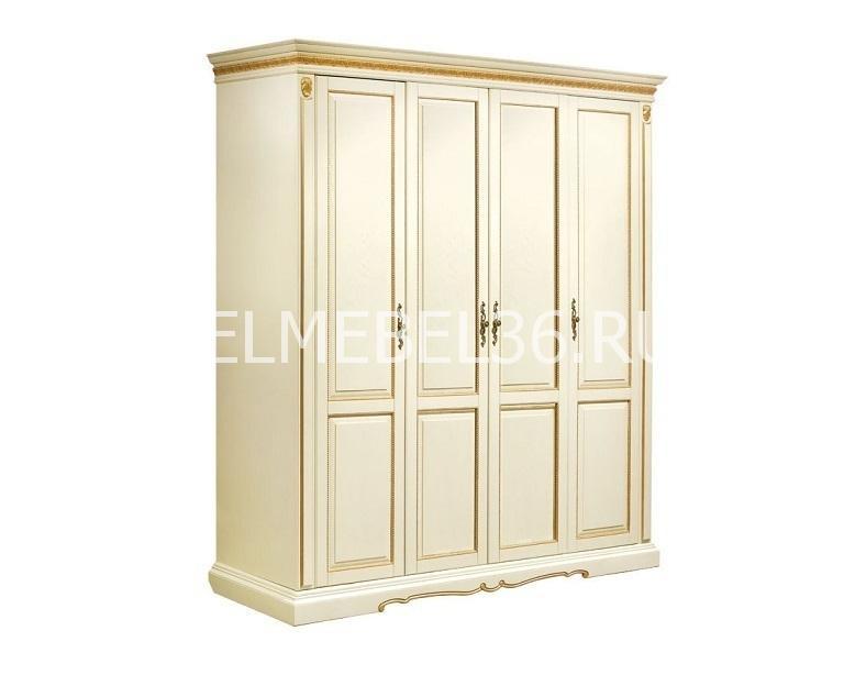 Шкаф 4-х дверный Милана 02/1 П-294.24 | Белорусская мебель в Воронеже