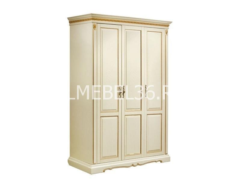 Шкаф 3-х дверный Милана 01/1 П-294.18   Белорусская мебель в Воронеже