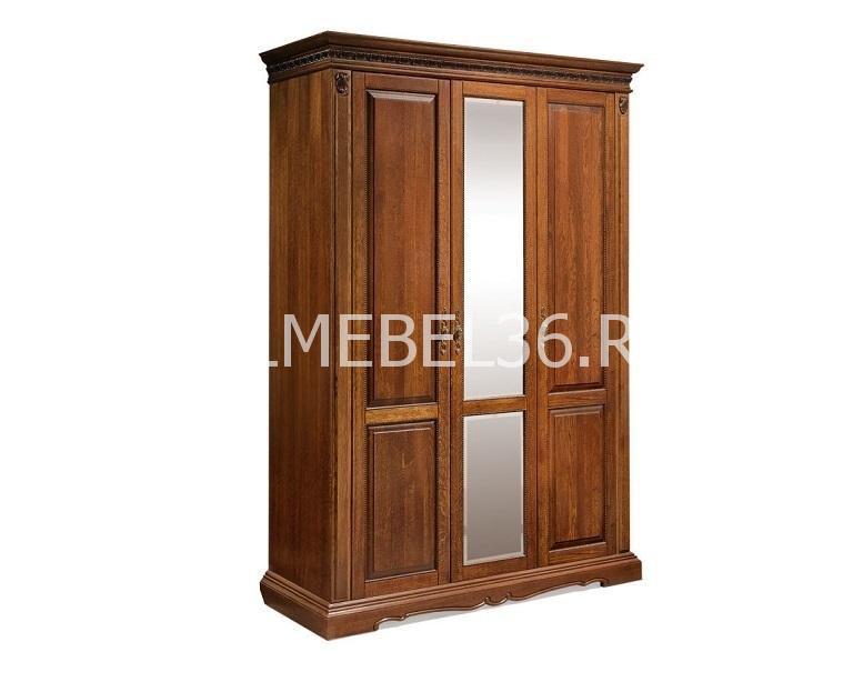 Шкаф 3-х дверный Милана 01 П-294.01 | Белорусская мебель в Воронеже
