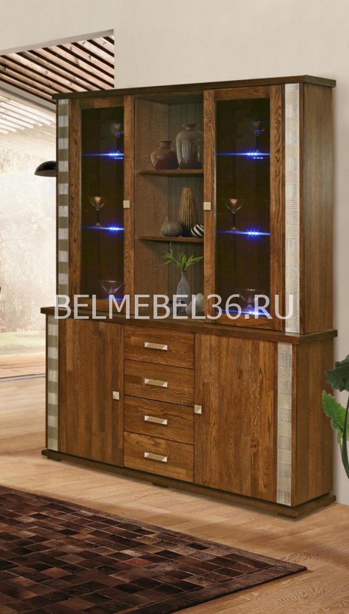 Шкаф комбинированный Тунис П-343.06Ш | Белорусская мебель в Воронеже