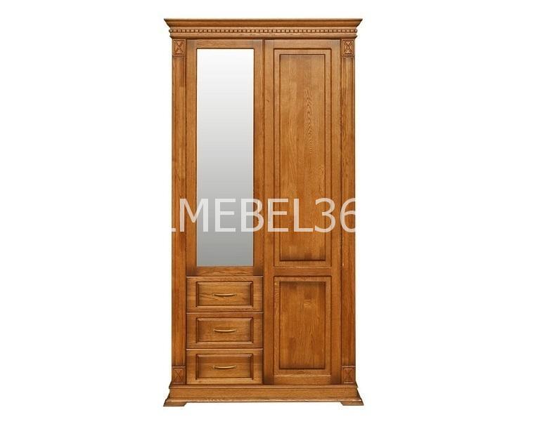 Шкаф комбинированный Верди П-433.12z   Белорусская мебель в Воронеже