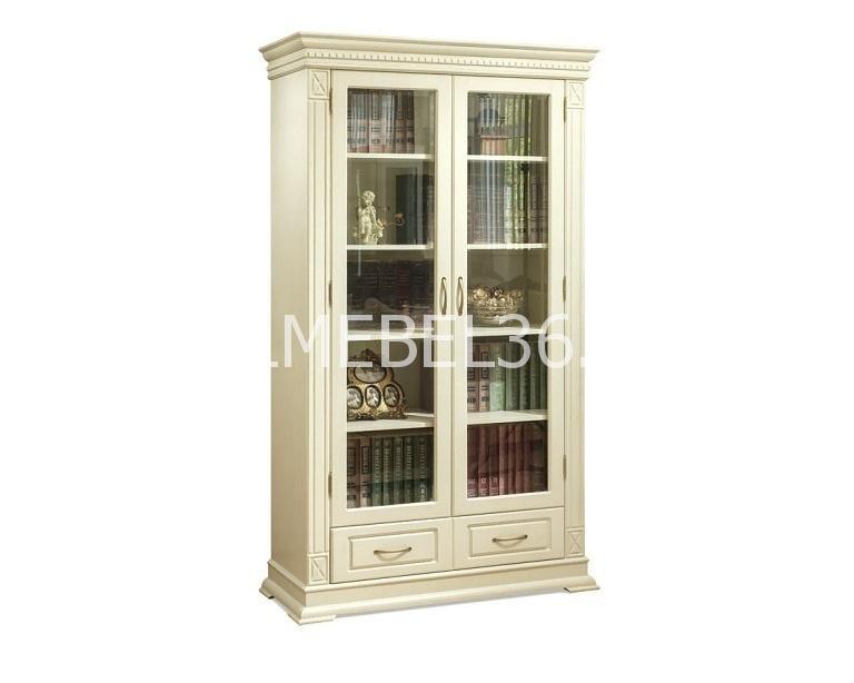Шкаф книжный Верди А2/1 П-1079.27 | Белорусская мебель в Воронеже