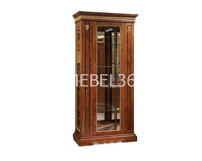 Шкаф с витриной Милана 8 П-265.08   Белорусская мебель в Воронеже