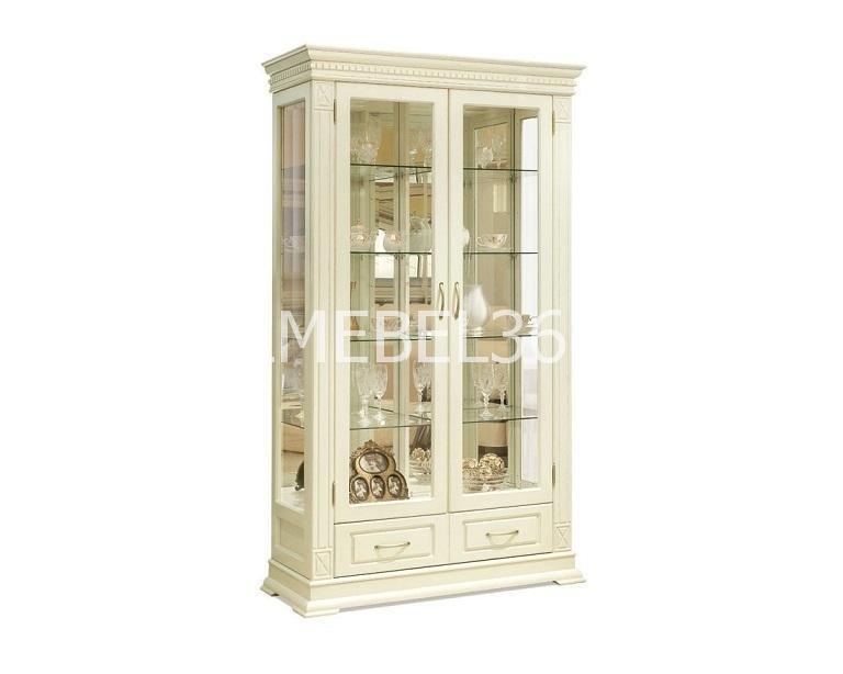 Шкаф с витриной Верди А2з П-1079.21з   Белорусская мебель в Воронеже