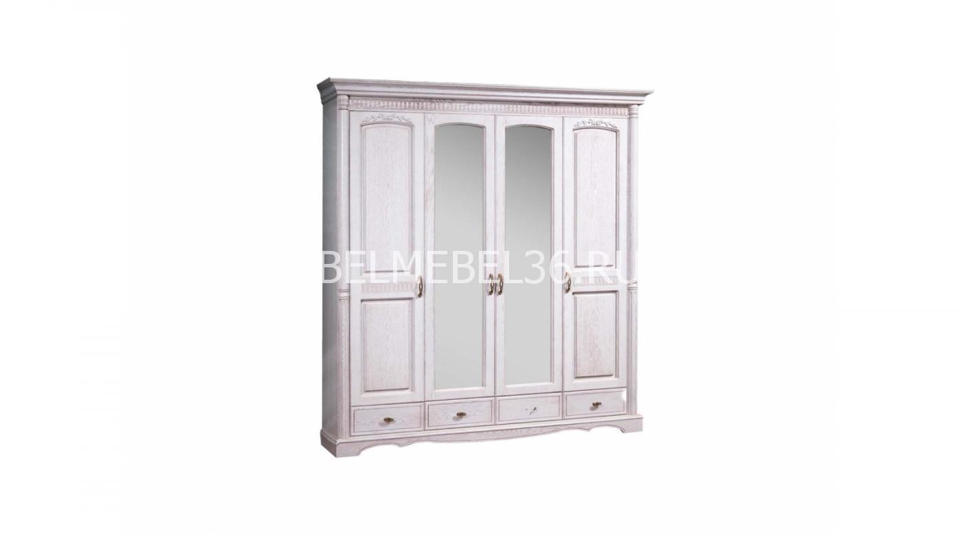 Шкаф 4-х дверный «Паола» | Белорусская мебель в Воронеже