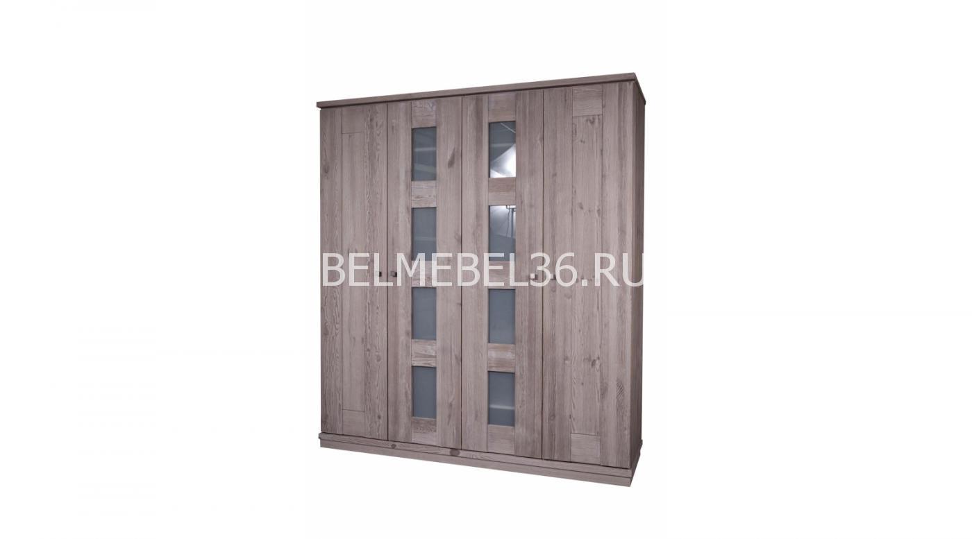 Шкаф 4-Х дверный «Доминика» БМ-2107   Белорусская мебель в Воронеже