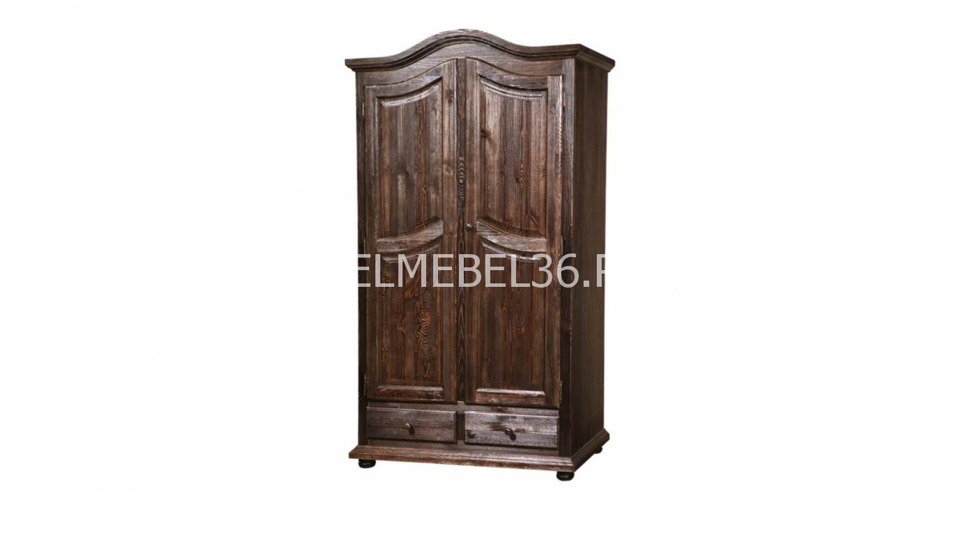 Шкаф 2-х дверный с ящиками «Лотос» БМ-2190   Белорусская мебель в Воронеже