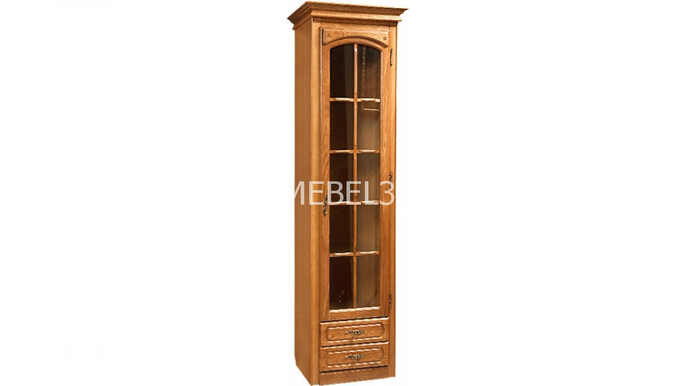 Шкаф с витриной «Элбург» БМ-1384   Белорусская мебель в Воронеже