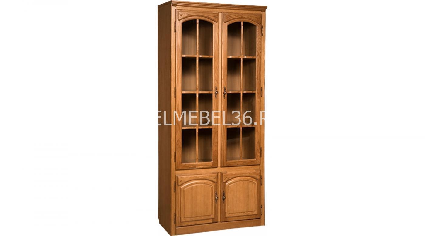 Шкаф с витриной «Элбург» БМ-1443 | Белорусская мебель в Воронеже