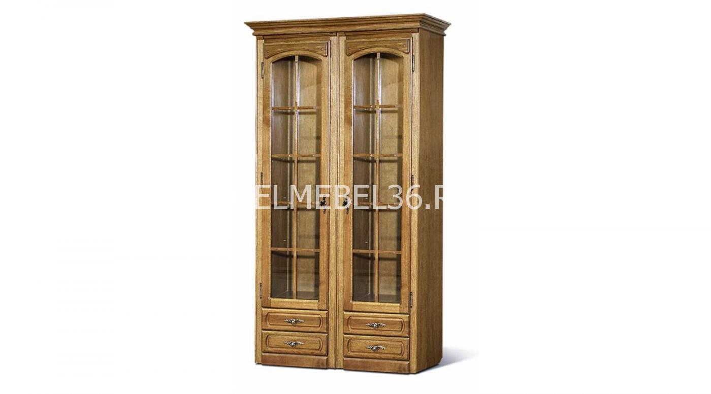 Шкаф с витриной «Элбург» БМ-1440   Белорусская мебель в Воронеже