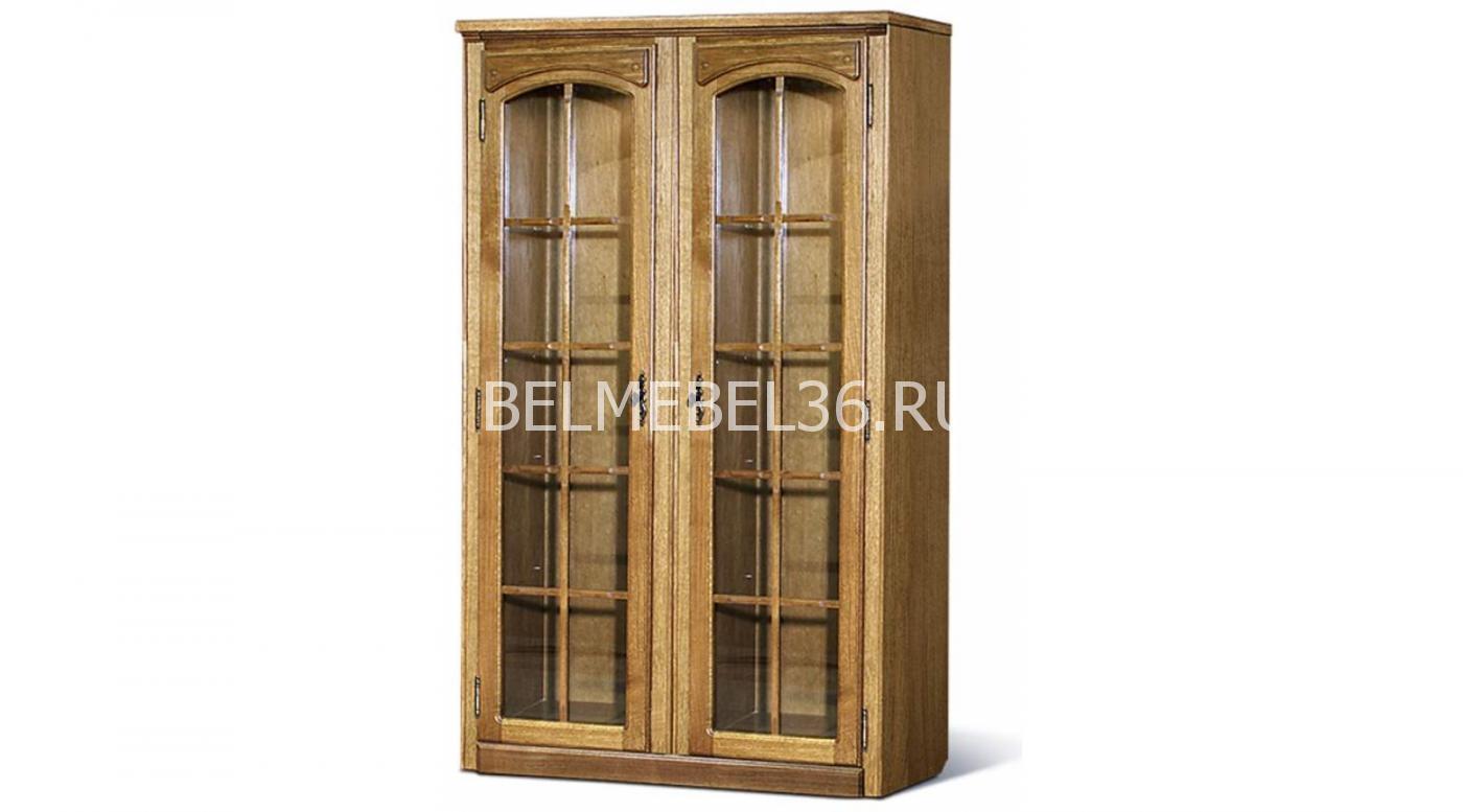 Шкаф с витриной «Элбург» БМ-1442   Белорусская мебель в Воронеже