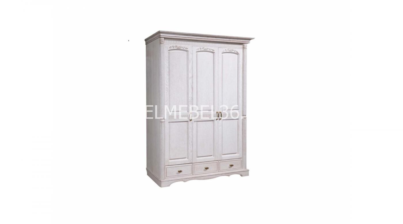 Шкаф 3-х дверный «Паола» | Белорусская мебель в Воронеже
