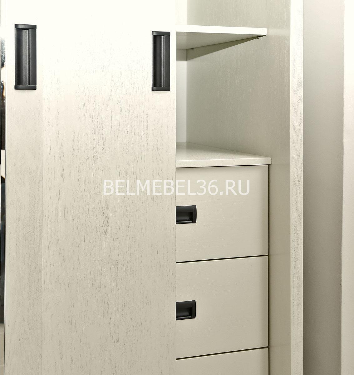 Шкаф-купе Луксор П-475.01(слоновая кость)   Белорусская мебель в Воронеже