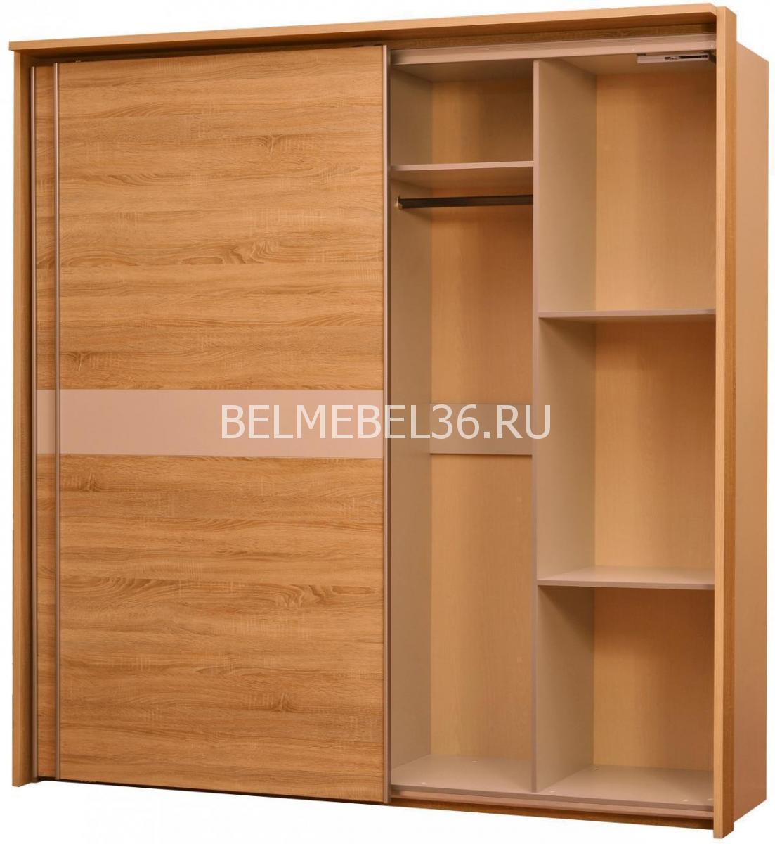 Шкаф-купе Комфорт П-400.01-3 | Белорусская мебель в Воронеже