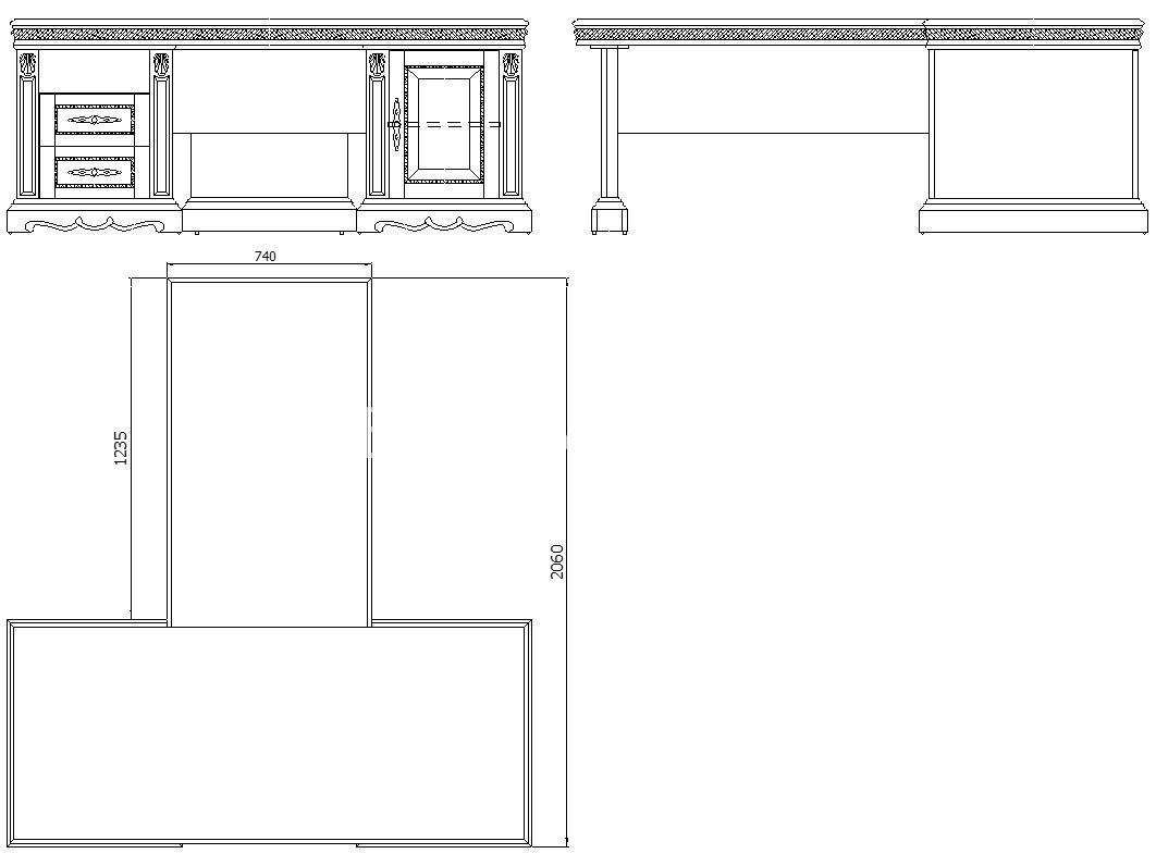 Стол письменный с приставкой Милана 2П- П-396.02   Белорусская мебель в Воронеже