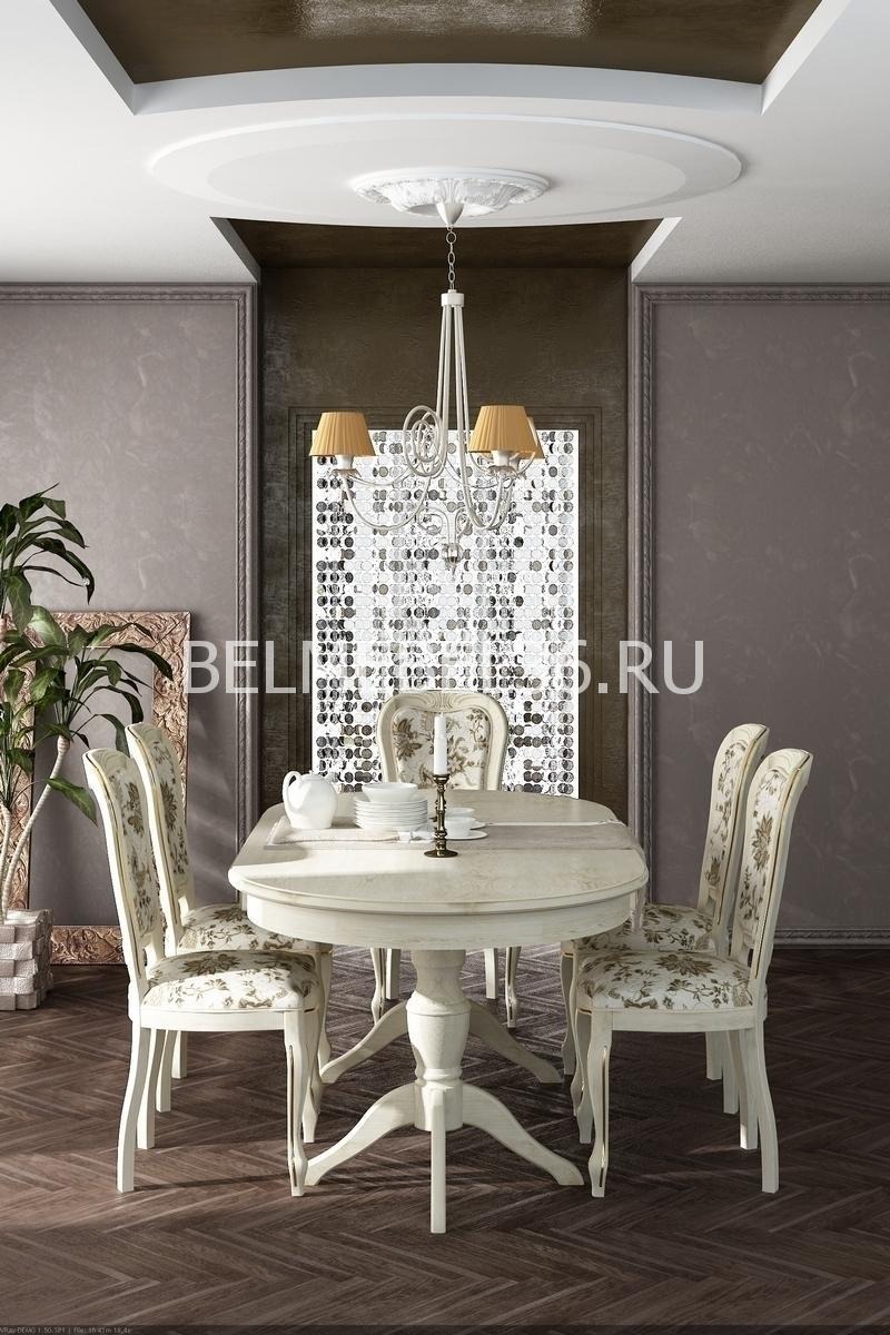 Стол раздвижной Верди 3РД П- 106.08-01 | Белорусская мебель в Воронеже