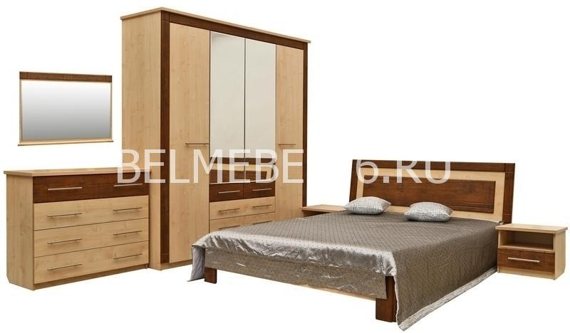 Набор мебели для спальни «Эстель» П385 | Белорусская мебель в Воронеже