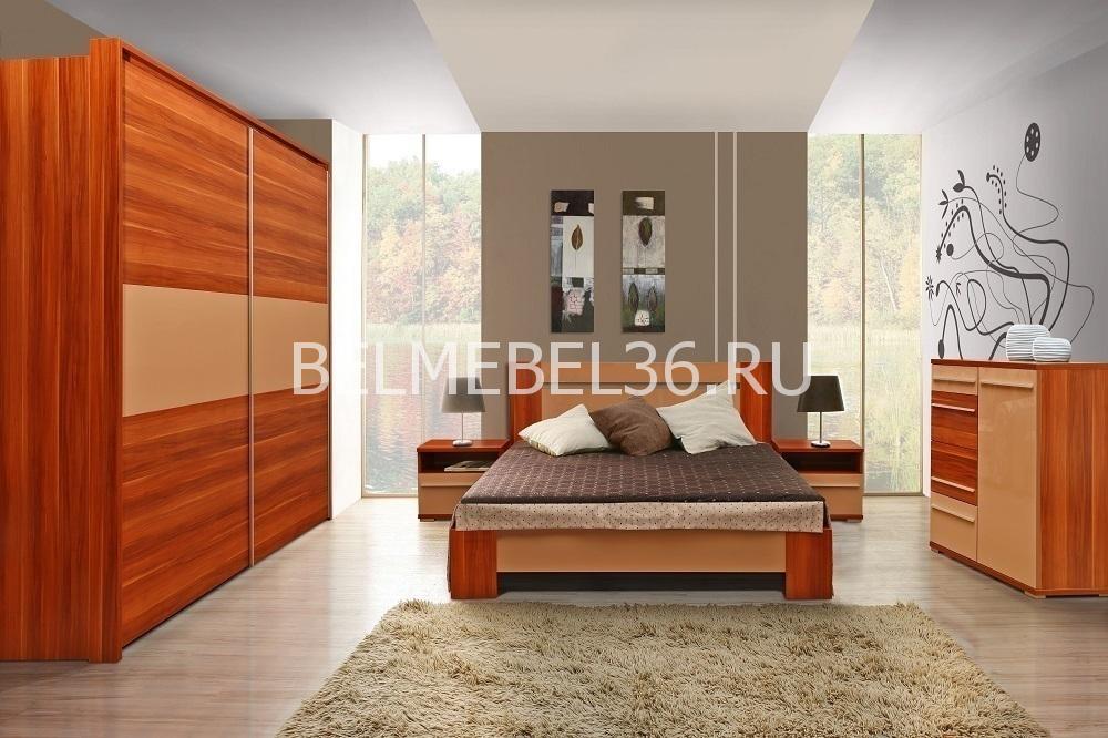 Н-р мебели для спальни «Капучино» П 416 | Белорусская мебель в Воронеже