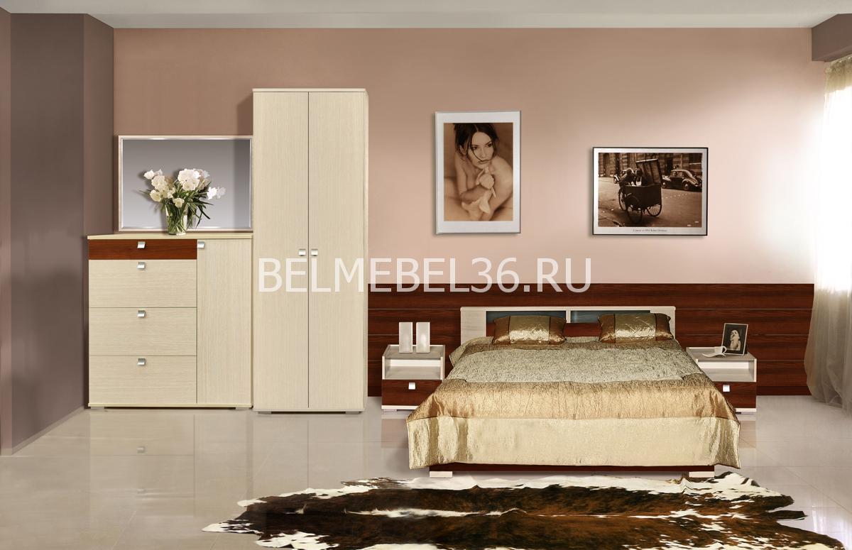 Н-р мебели для спальни «Квадро» П 181(П181.08;П181.06;П181.14;П181.12) | Белорусская мебель в Воронеже