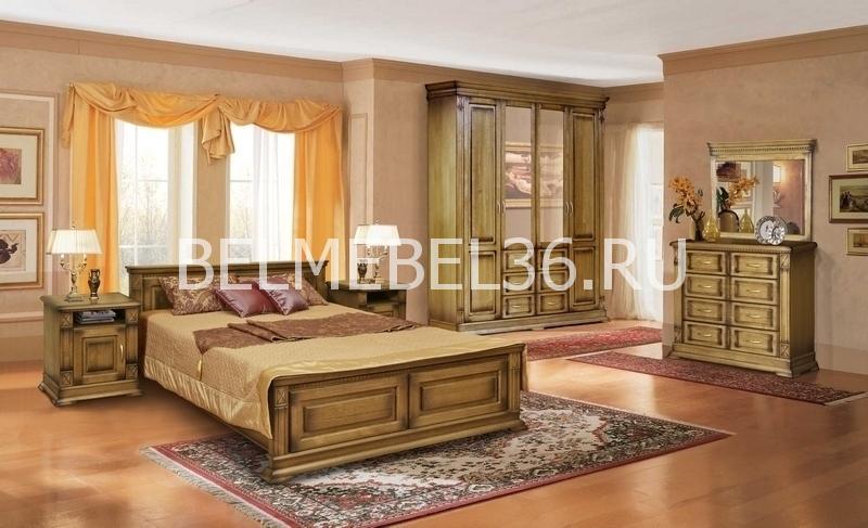 Спальня Верди (дуб) | Белорусская мебель в Воронеже